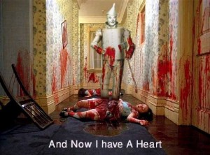 Wizard of Oz Iron Man Gets A Heart ;)
