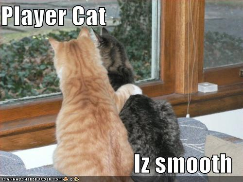 LOLCats player cat is smooth