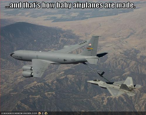 how baby planes are made :)