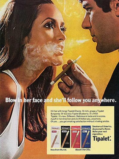 vintag cigarette ad, gotta love it :)