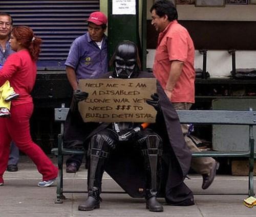 Darth Vader Can Save Us All :)