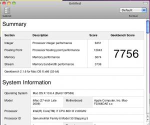 Hackintosh i7 Desktop Vs MacBook Pro i7 Benchmark Results