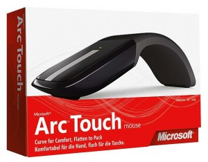 Microsoft's New Mouse Input Device Revealed, Their Take On Apple's Magic Mouse, The Arc Touch.